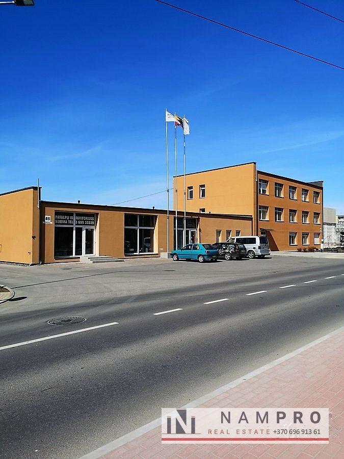 Kaunas, A. Šančiai, Verkių g., įvairaus dydžio biuro patalpų nuoma